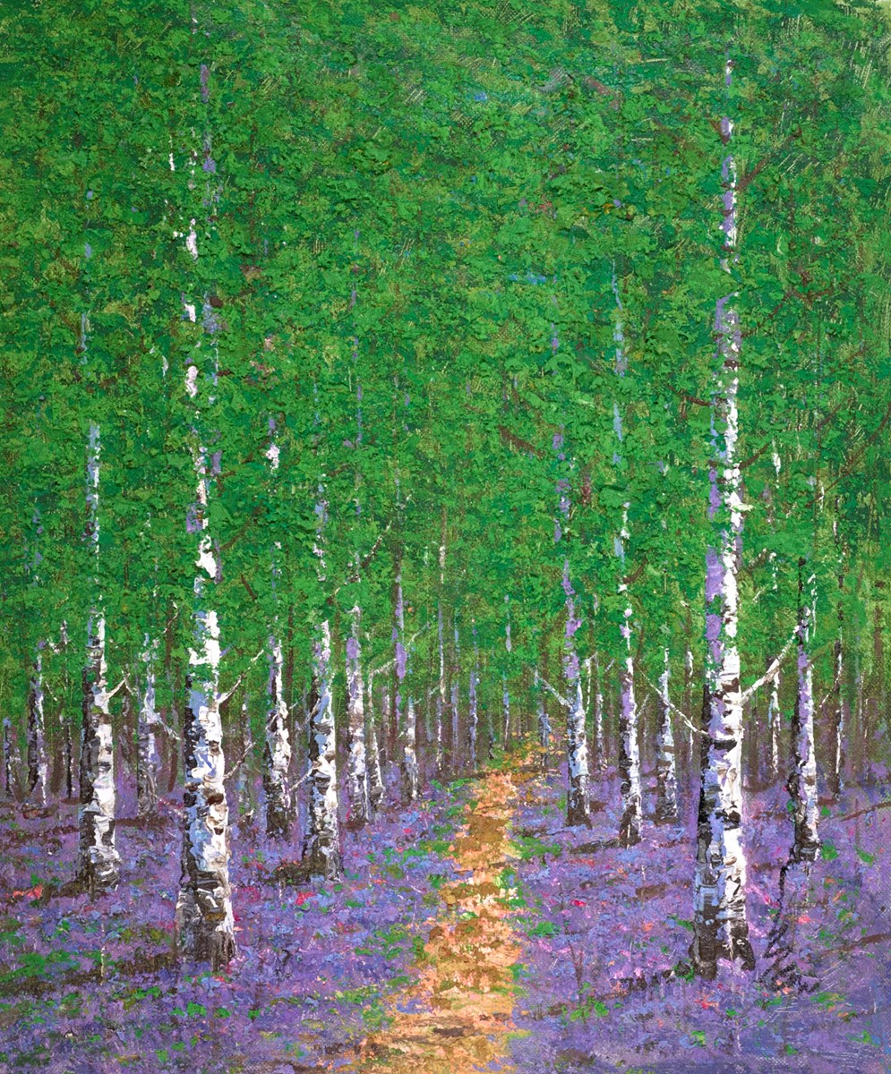 Path Between the Trees I by inam -  sized 32x39 inches. Available from Whitewall Galleries